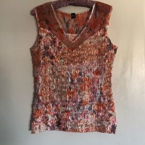 Women's size M summer top. Stretchy fit